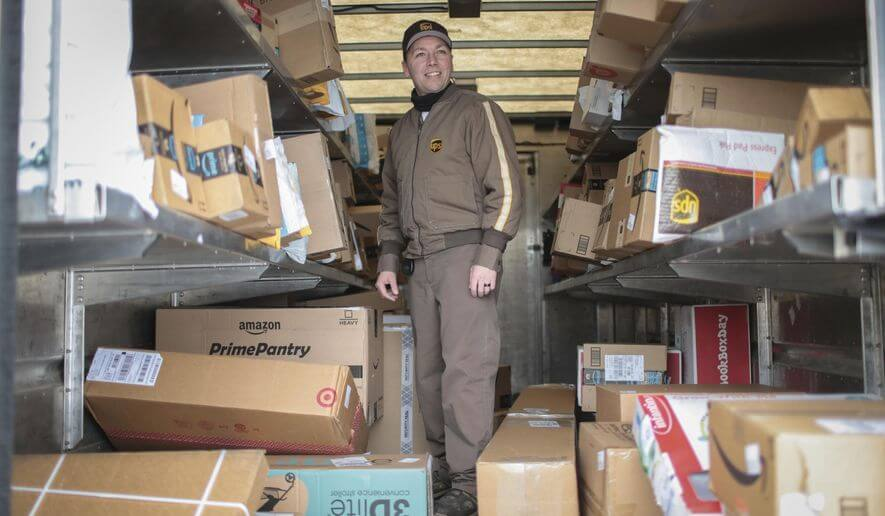 Working for UPS as a felon