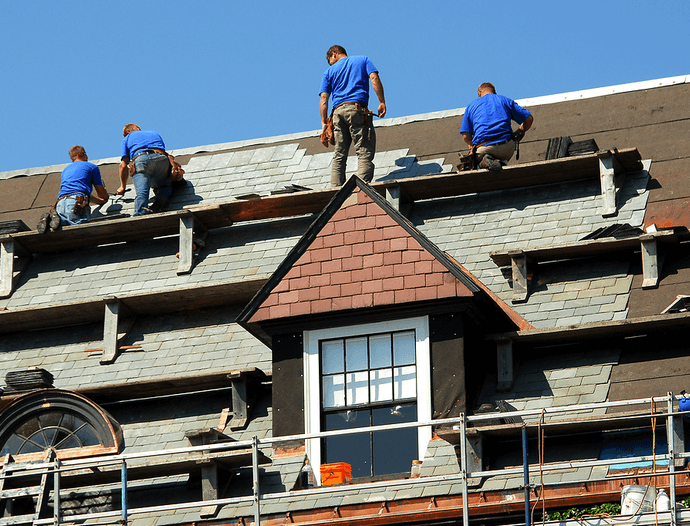 how to get a roofing job