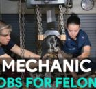 mechanic work for felons