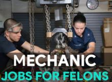 mechanic jobs for felons
