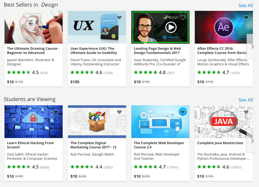 udemy courses online