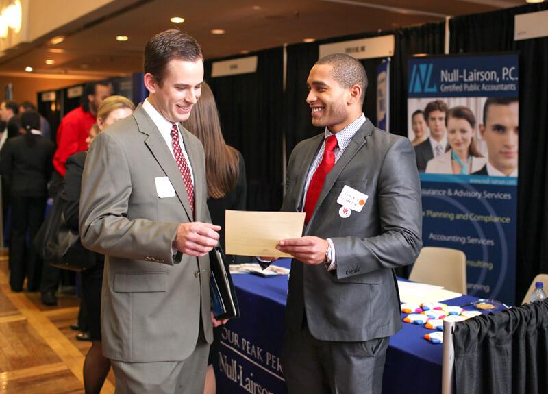 College career fair job opportunities