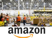 Jobs at an Amazon warehouse