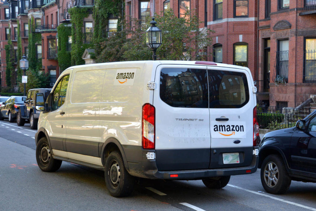 Amazon Delivery Van - jobs for Felons